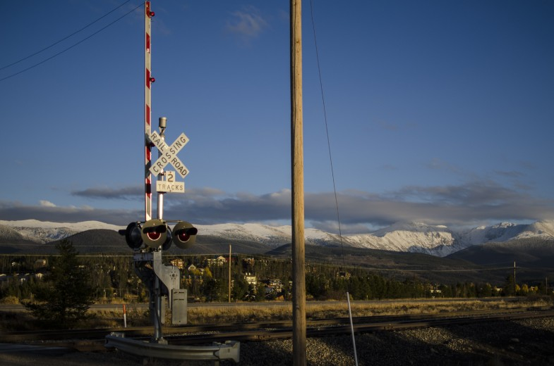 Tracks Crossing II
