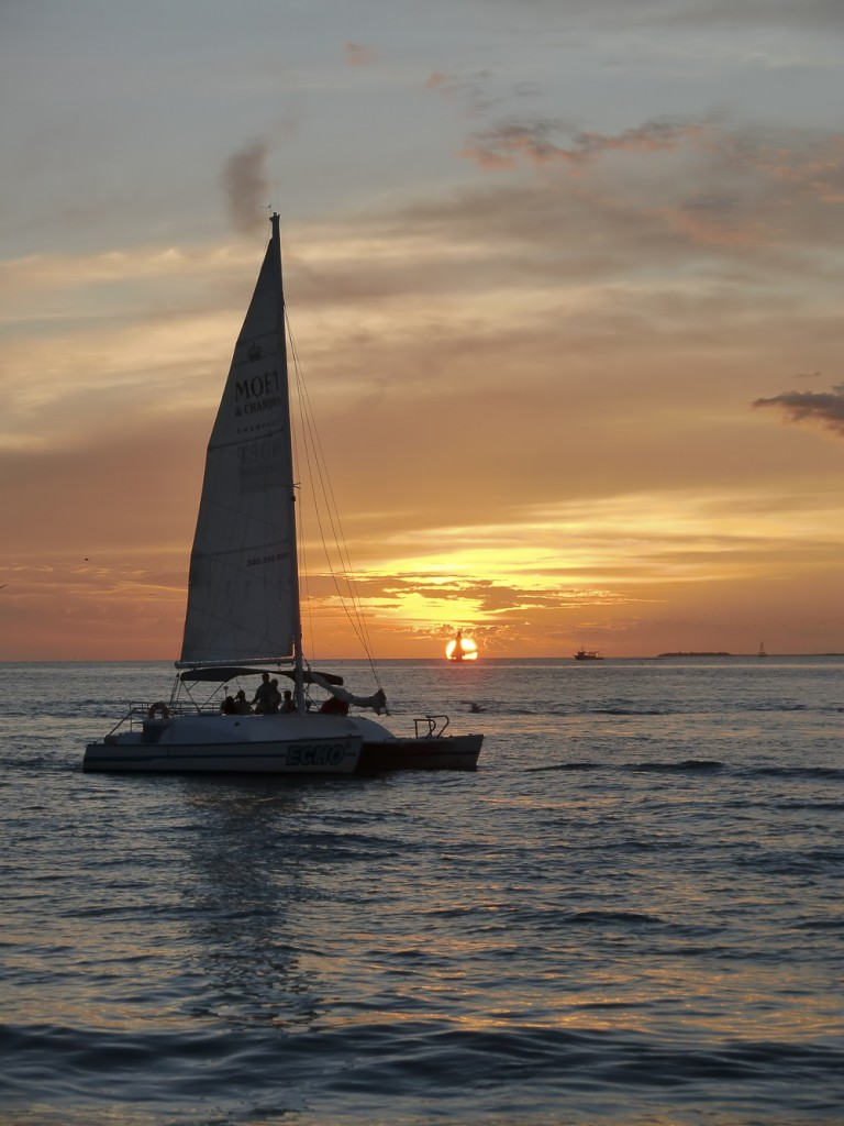 Sunset at Key West III