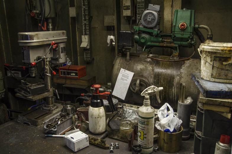Werkzeuge im Hafenmuseum